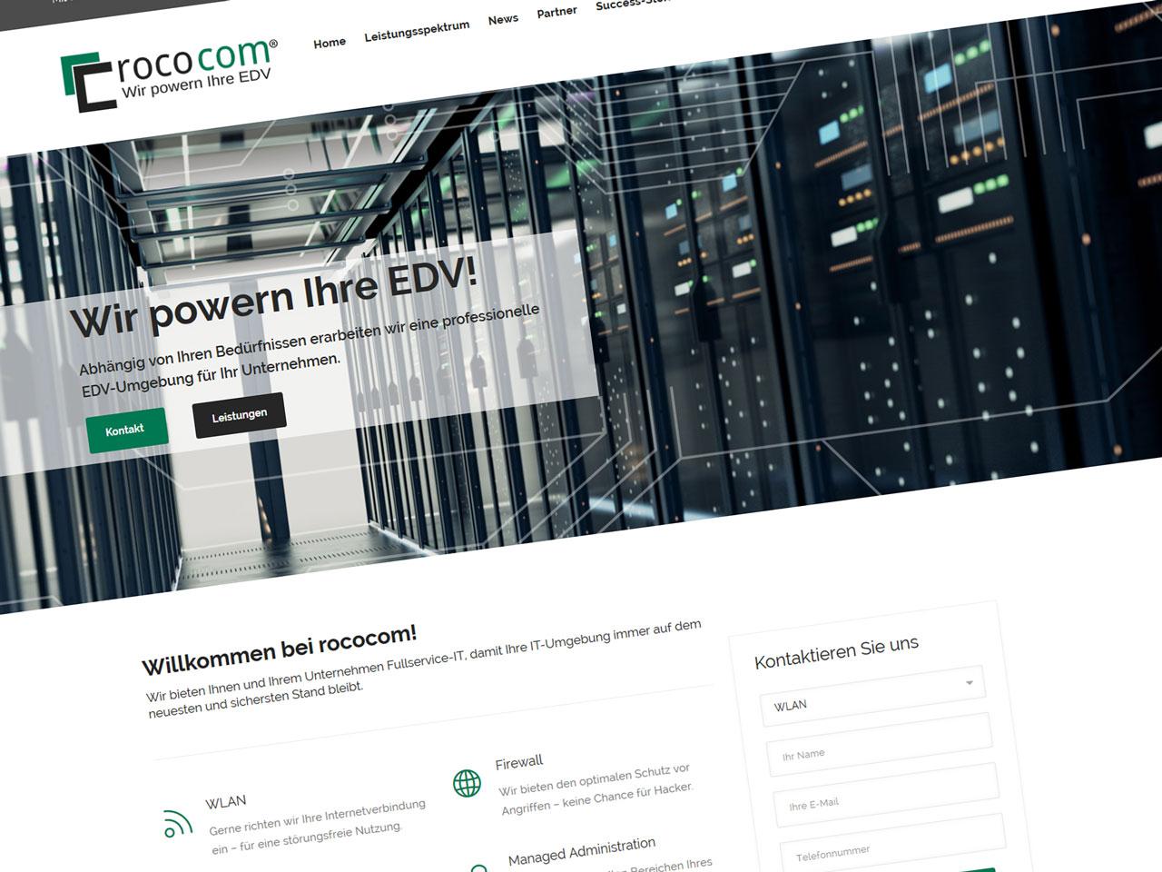 Neuer rococom Webauftritt!