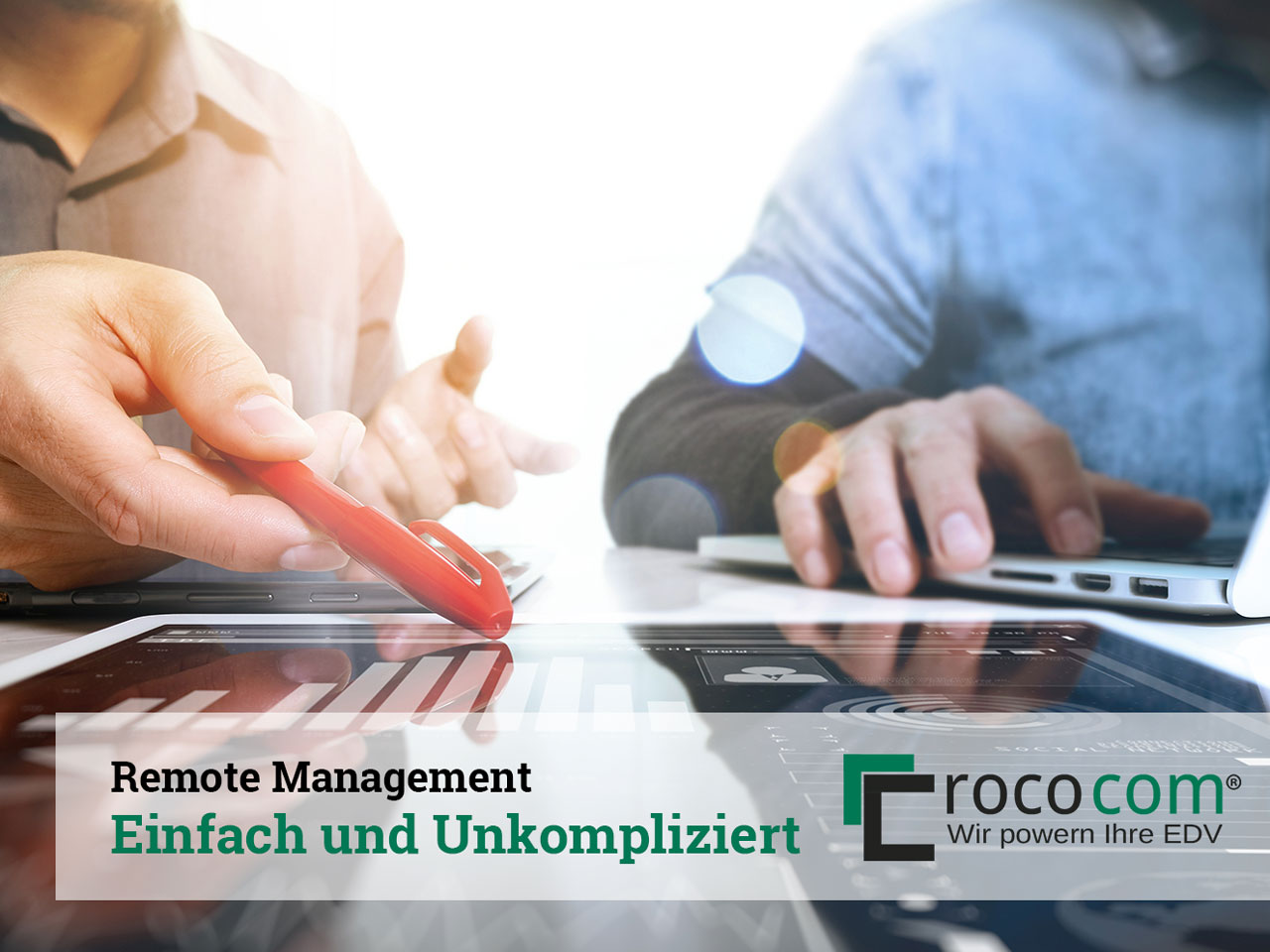 Remote Monitoring und Management mit rococom