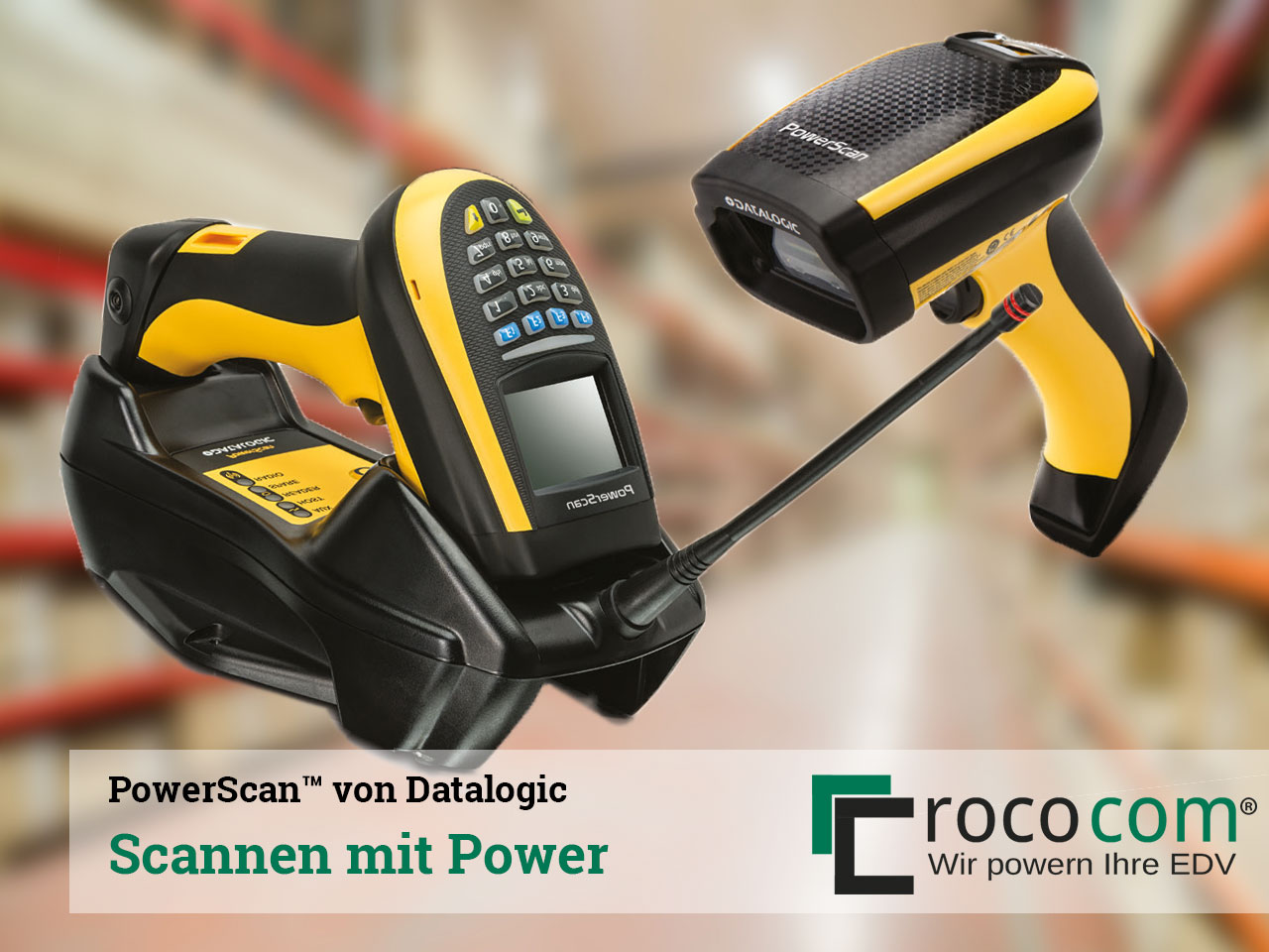 Scannen mit Power