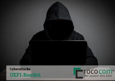 Cyber-Angriff mit UEFI-Rootkit