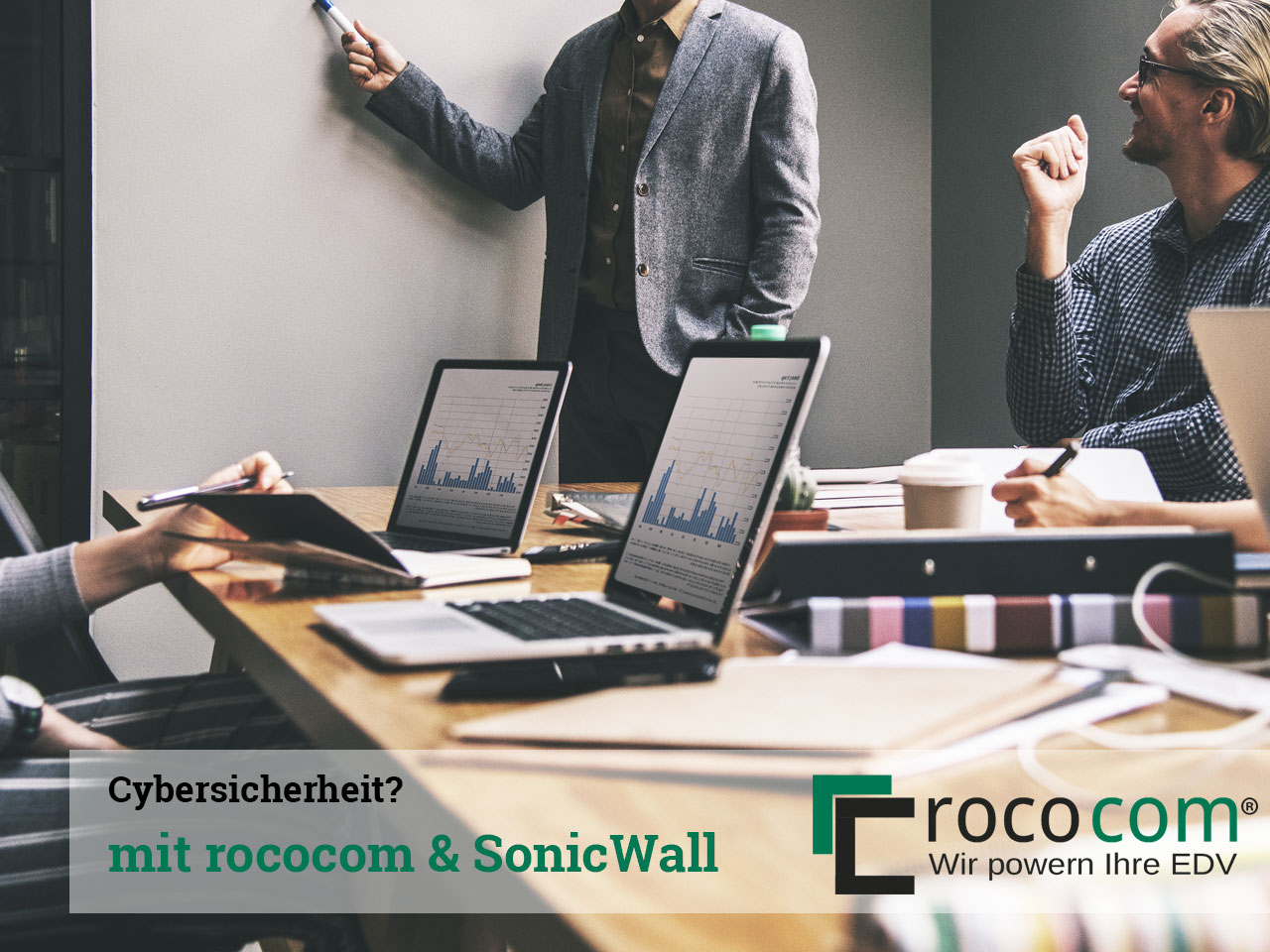 Cybersicherheit? Mit rococom und SonicWall!
